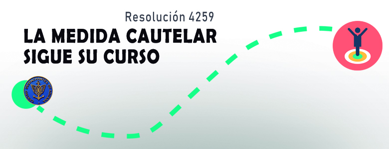 Resolución 4259 - Medida cautelar en curso